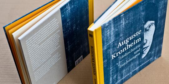 Auguste Kronheim – Holzschnitte und Zeichnungen – Katalog – LENTOS Kunstmuseum Linz © Martin Bruner Sombrero Design
