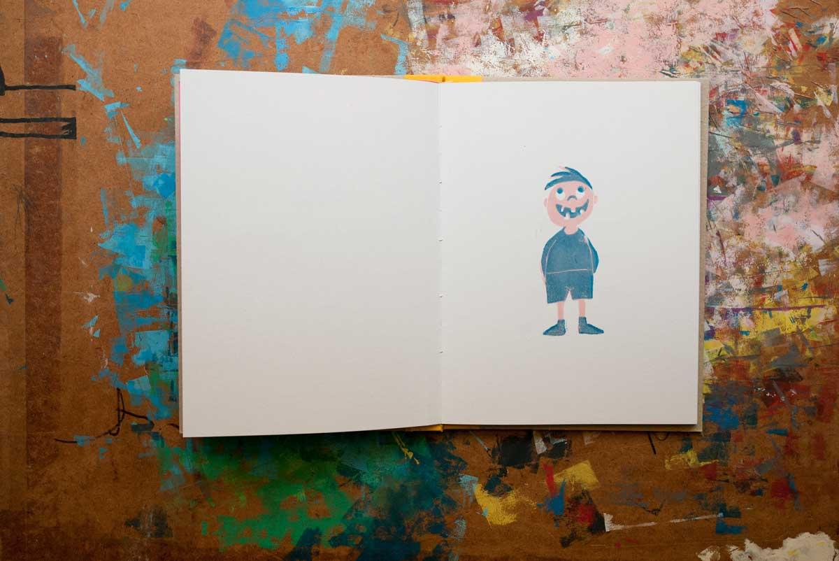 Das unmögliche Kind – Kinderbuch – Illustration © Martin Bruner Sombrero Design