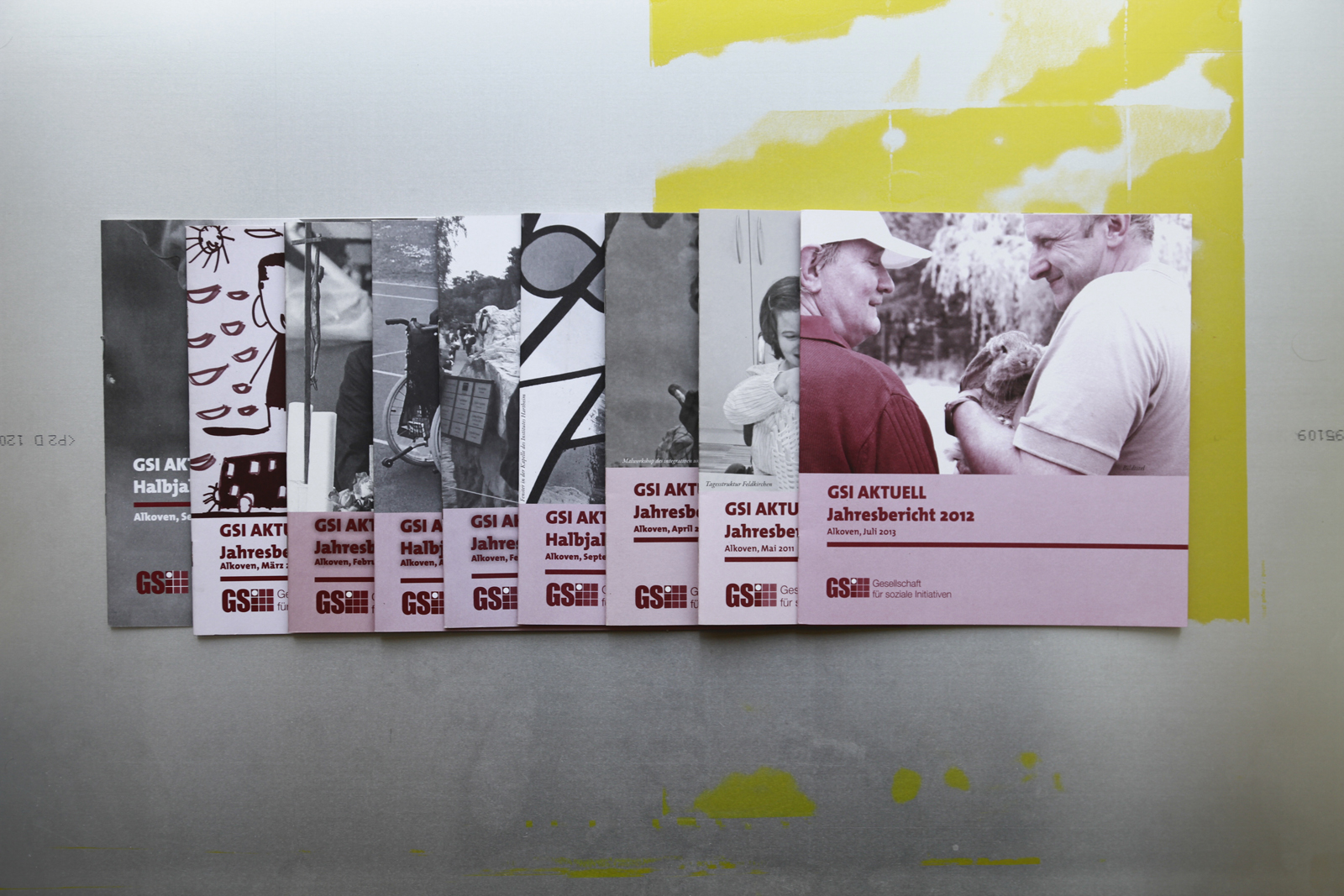 GSI-Aktuell – Gesellschaften für soziale Initiativen © Martin Bruner Sombrero Design