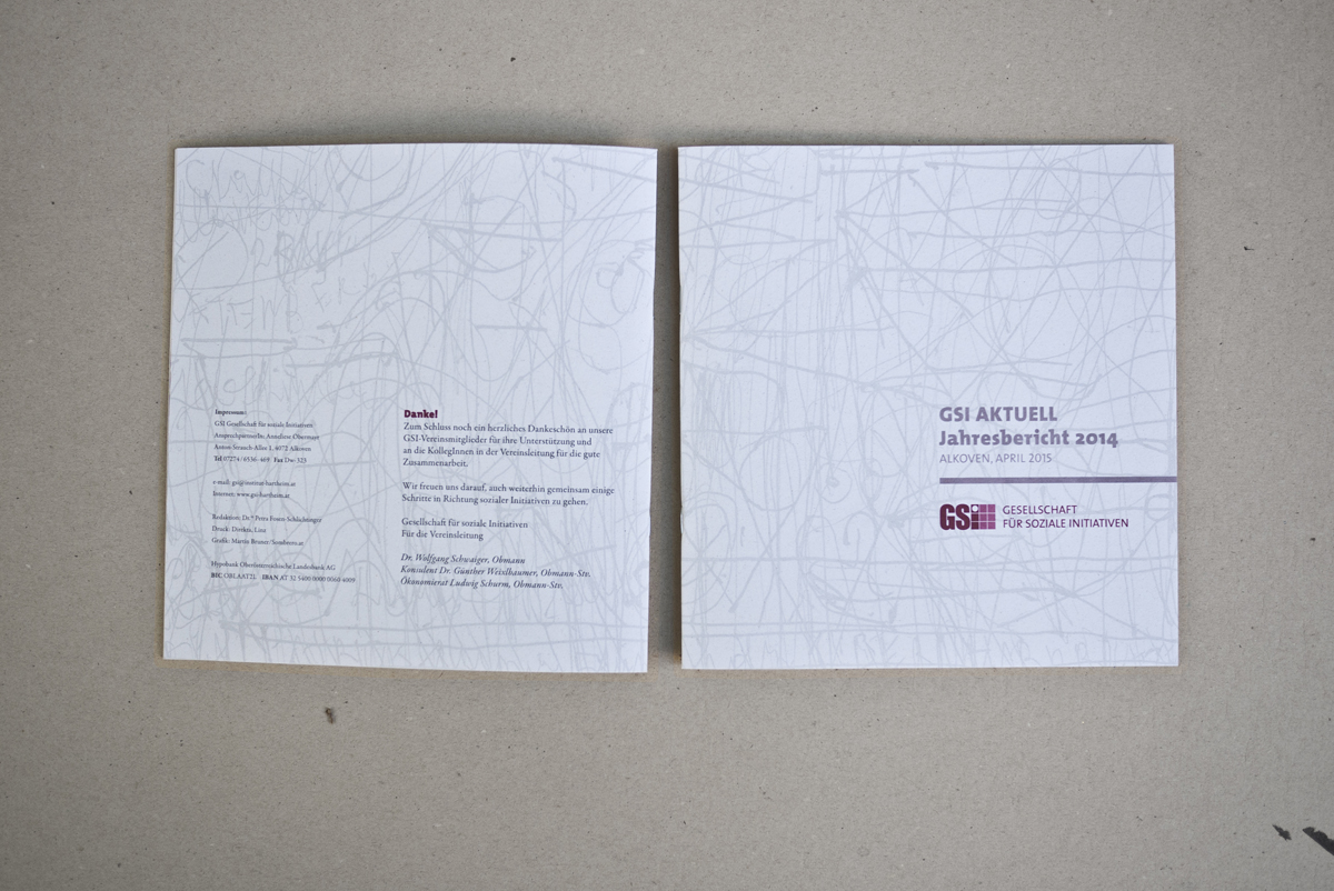 GSI Aktuell – Gesellschaft für soziale Initiativen © Martin Bruner Sombrero Design