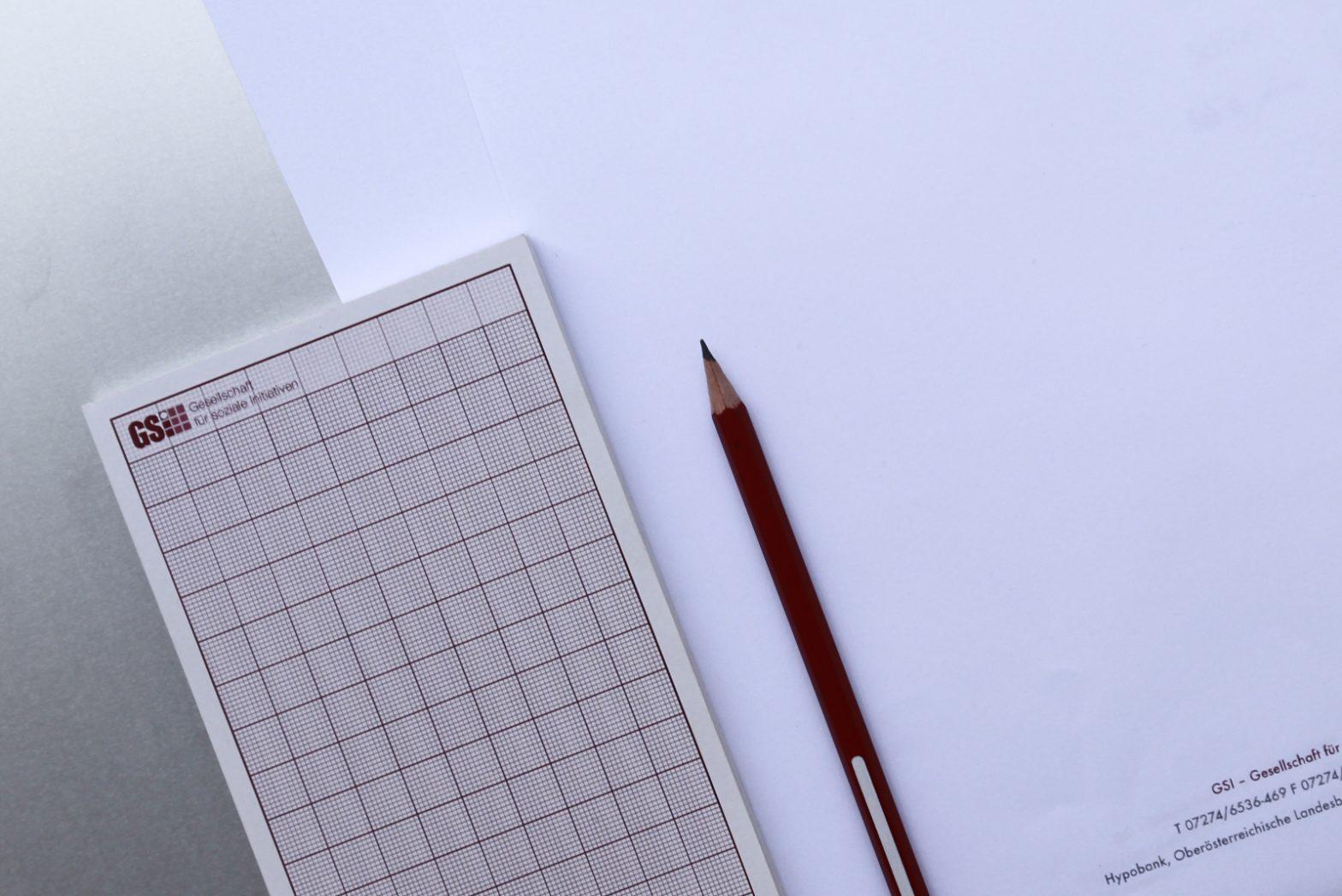 Abreiss-Block – GSI Gesellschaft für soziale Initiativen © Martin Bruner Sombrero Design
