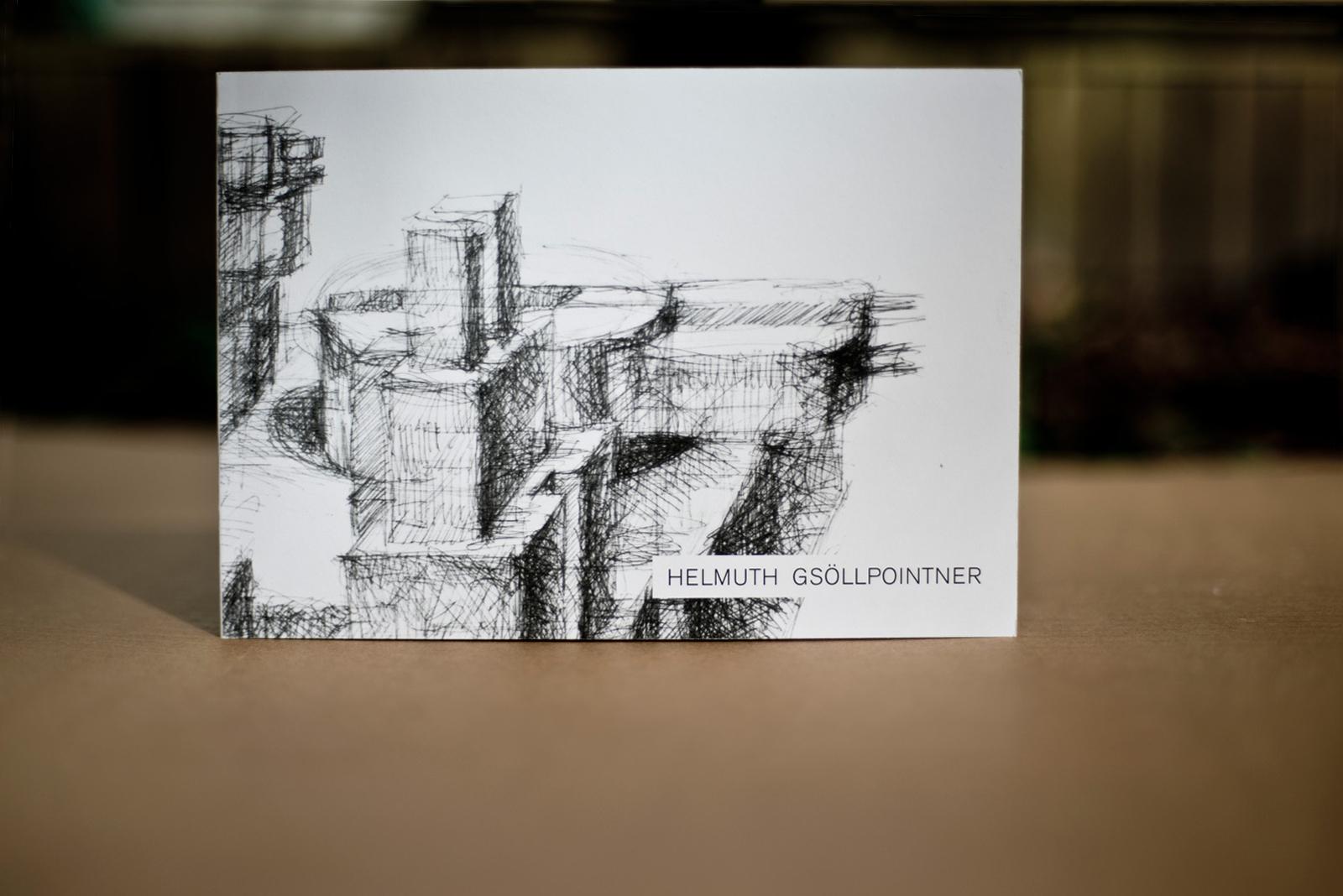 Helmut Gsöllpointner – Poritstudien Katalog © Martin Bruner Sombrero Design