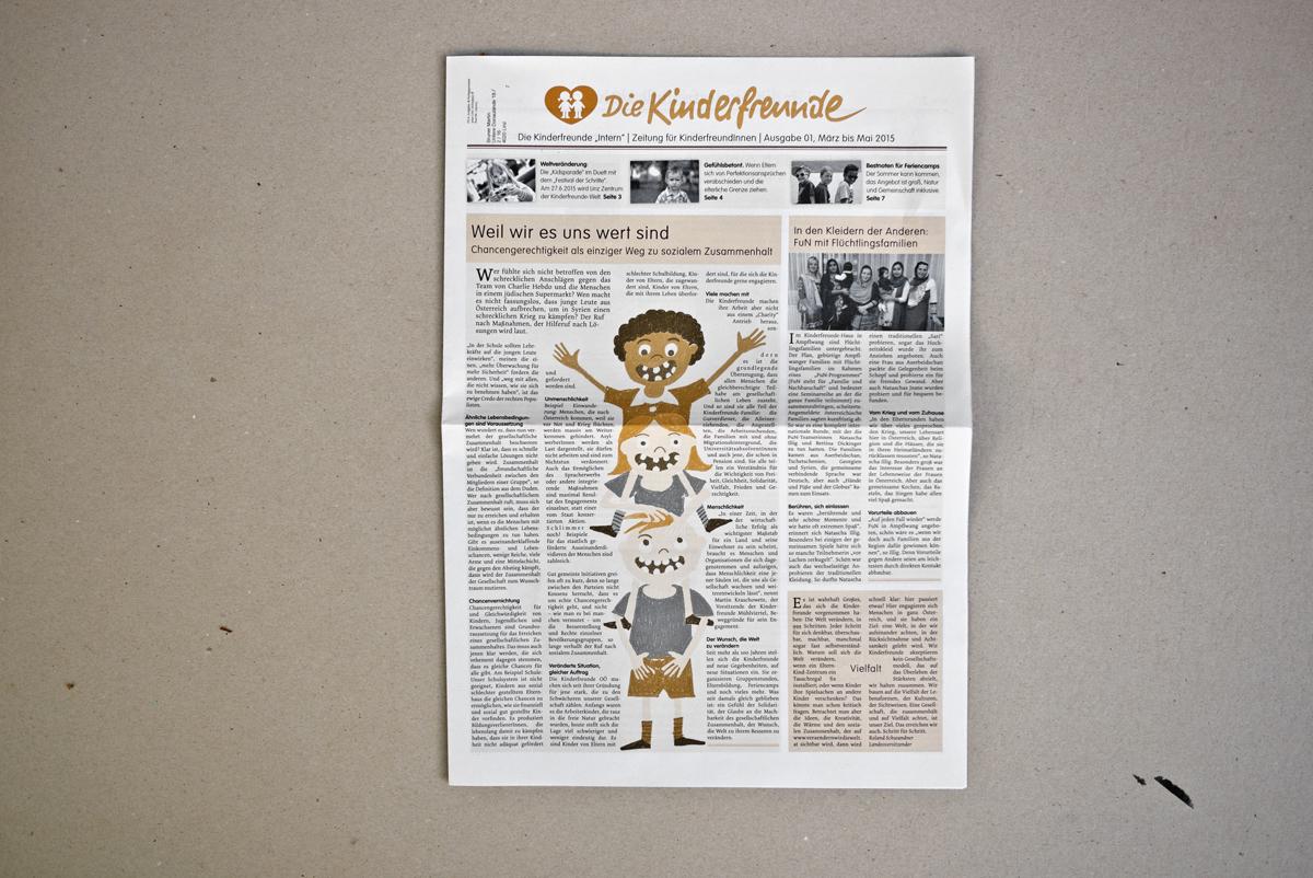 Die Kinder Zeitung © Martin Bruner Sombrero Design