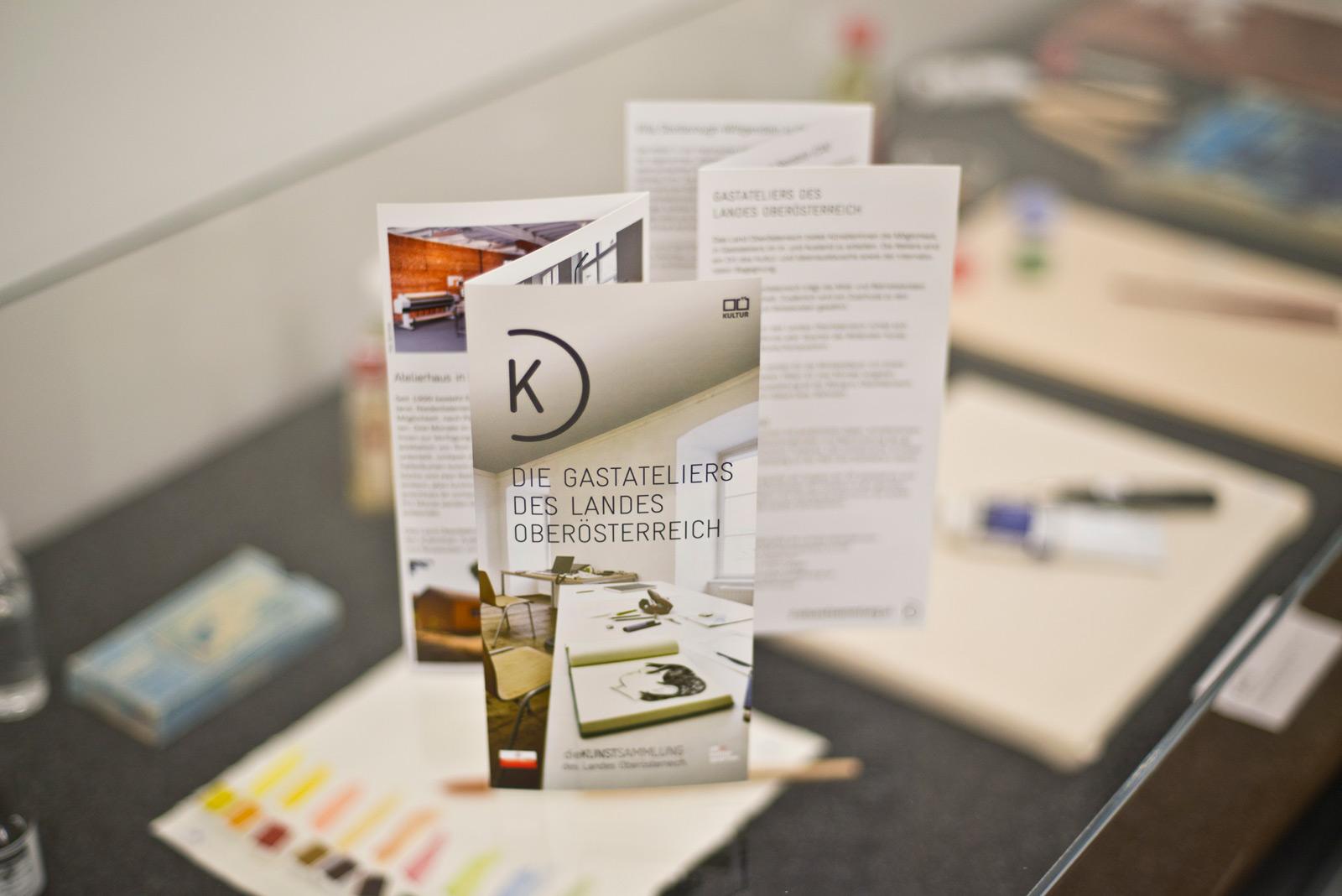 Kunstsammlung des Landes Oberösterreich – Drucksorten © Martin Bruner Sombrero Design