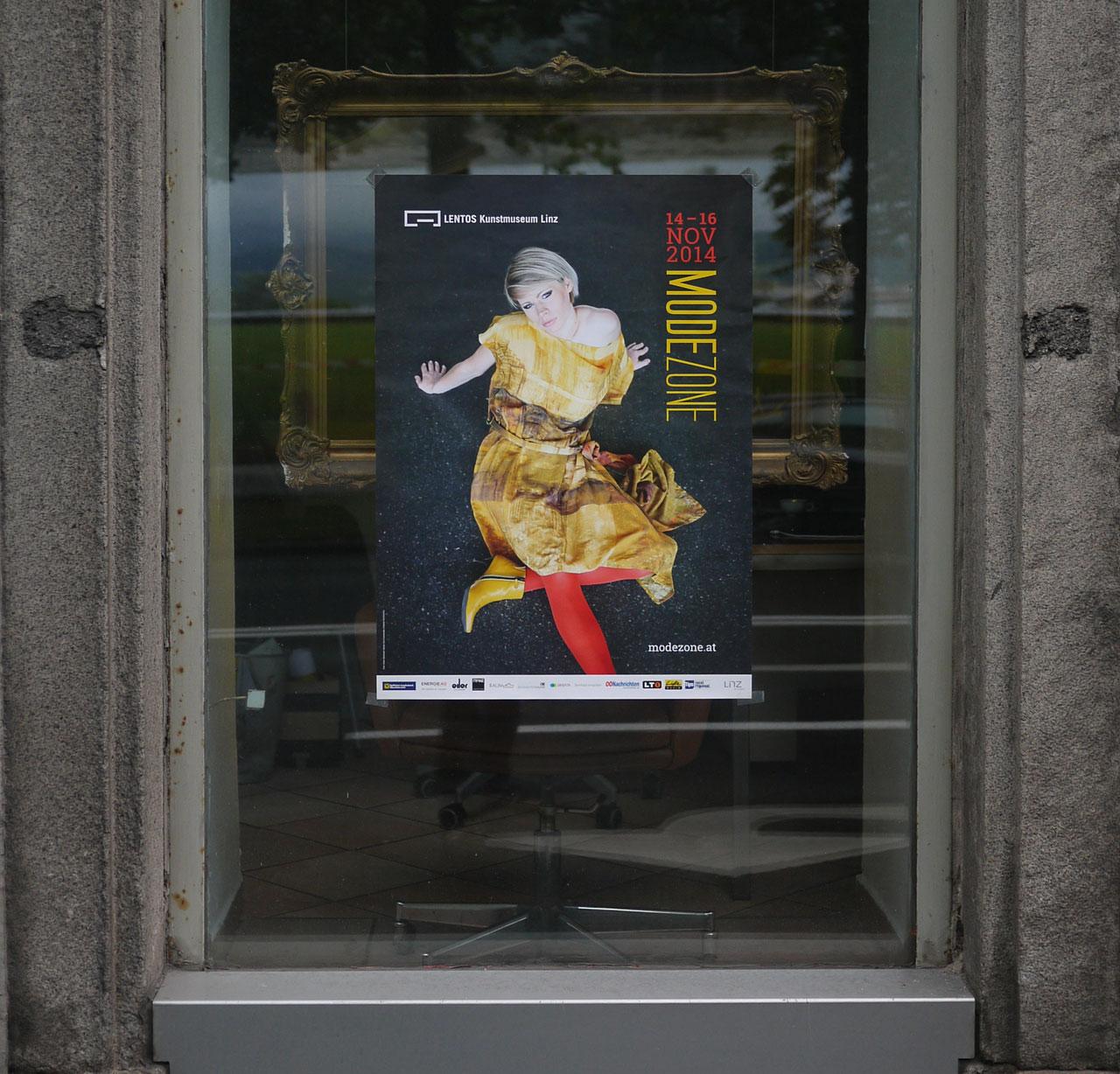 Modezone Linz – Design Gestaltung © Martin Bruner Sombrero Design