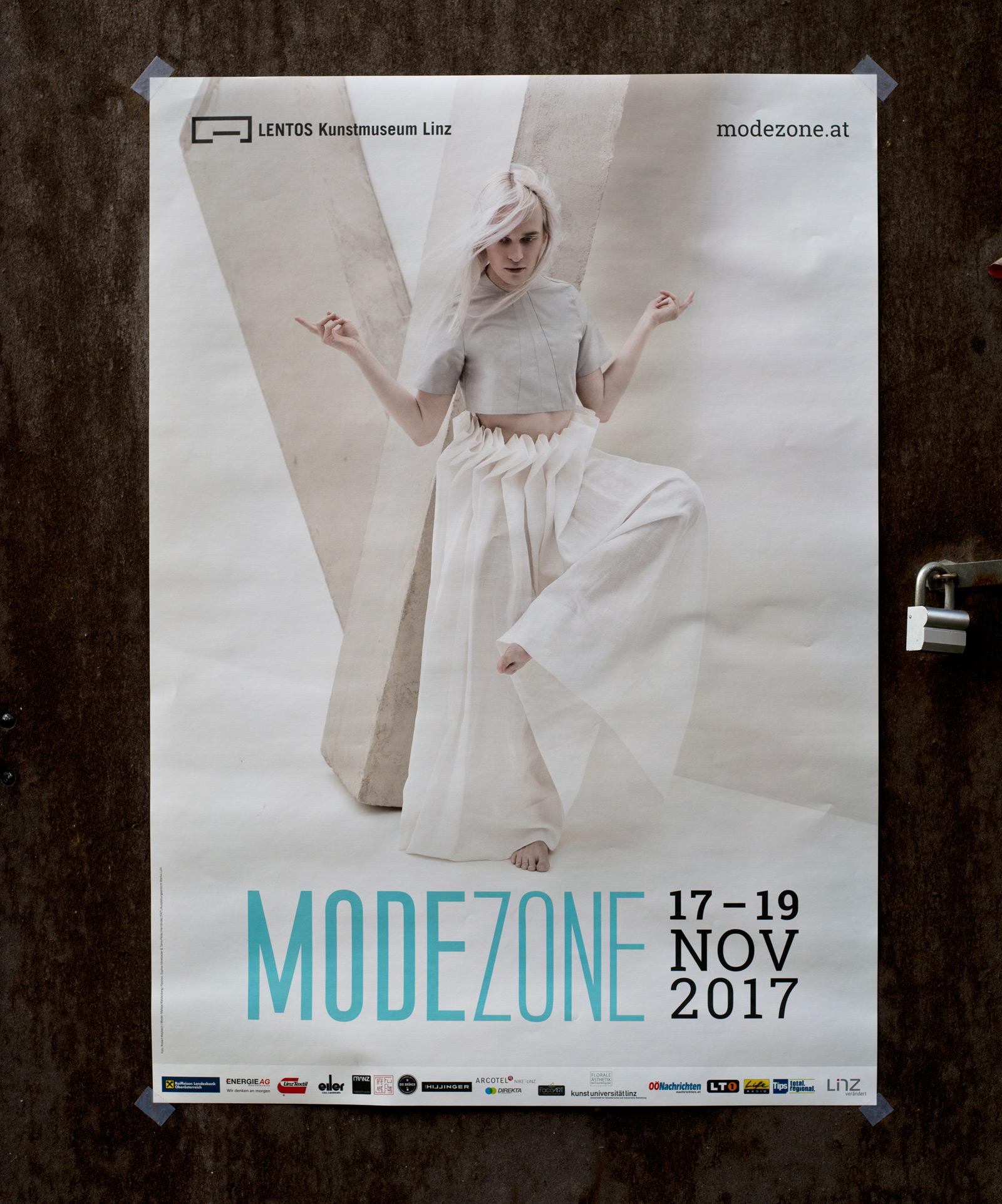 Modezone Linz Lentos 2017 – Gestaltung © Martin Bruner Sombrero Design