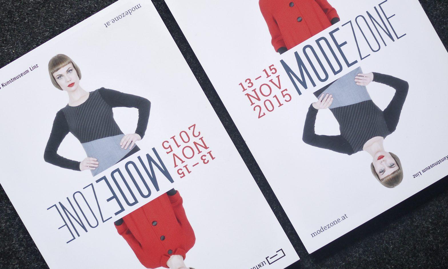 Modezone 2015 Linz Lentos – Gestaltung © Martin Bruner Sombrero Design