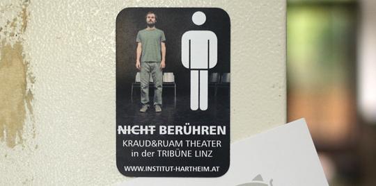 Nicht Berühren – Theaterstück – Kraut und Raum Theater © Martin Bruner Sombrero Design