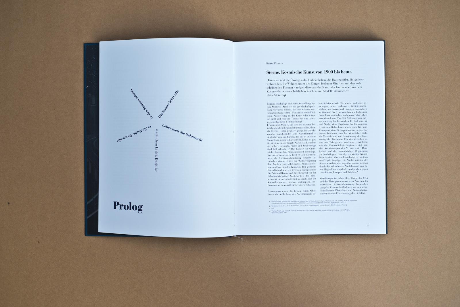 Sterne – Kosmische Kunst von 1900 bis heute – Katalog – LENTOS Kunstmuseum Linz © Martin Bruner Sombrero Design