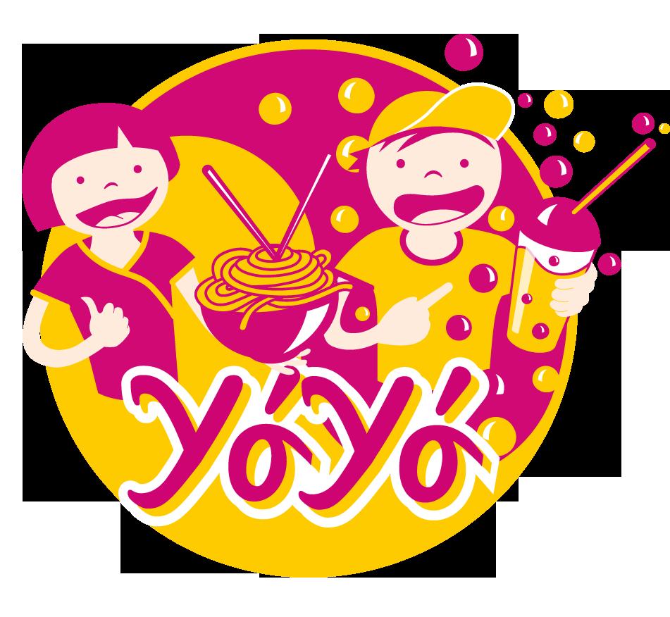YoYo Noodles & Bubble Tea – Illustration © Martin Bruner Sombrero Design