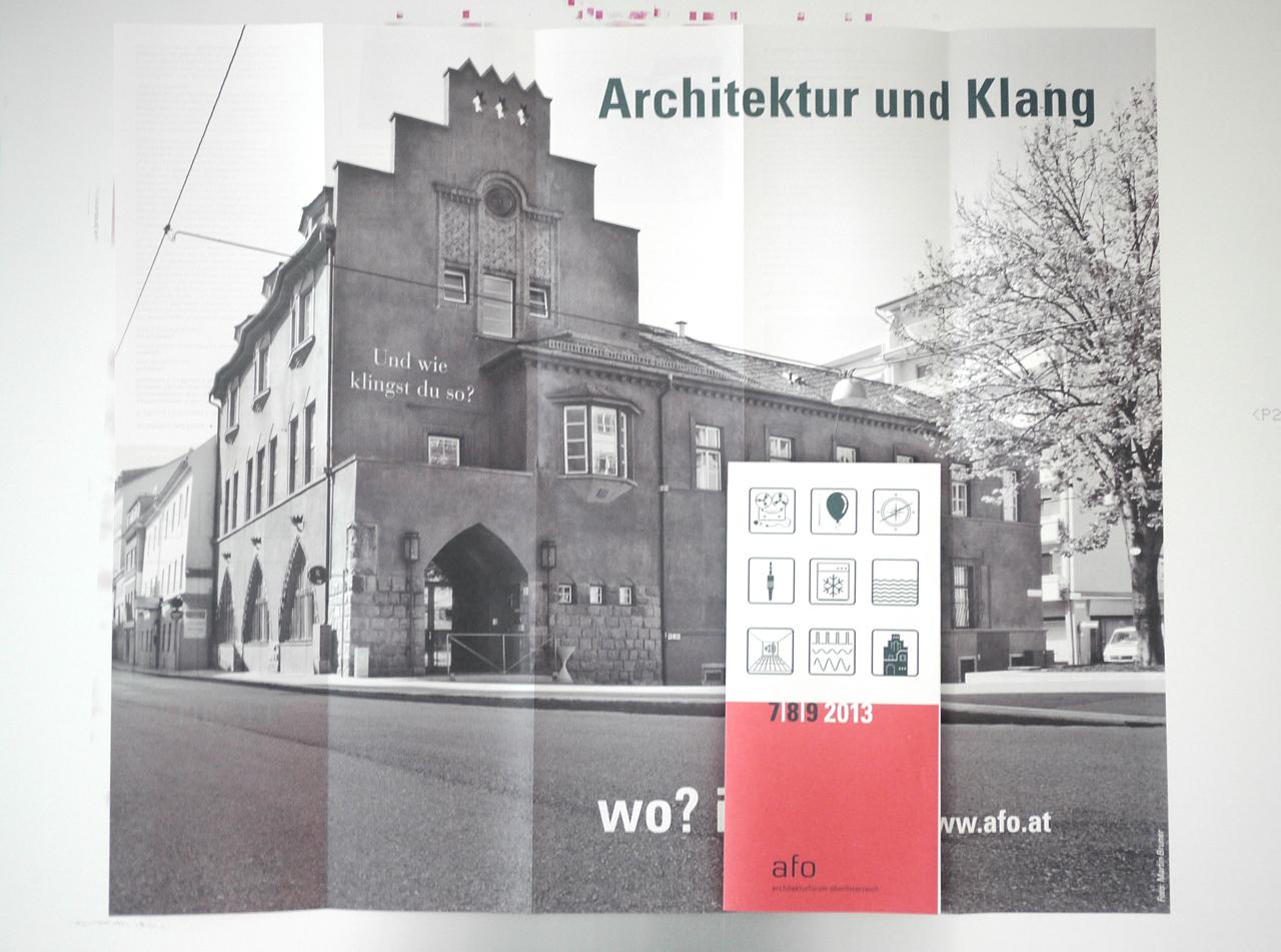 afo Wie klingst du? – Symbol – Pictogramme – Architekturforum Oberösterreich © Martin Bruner Sombrero Design