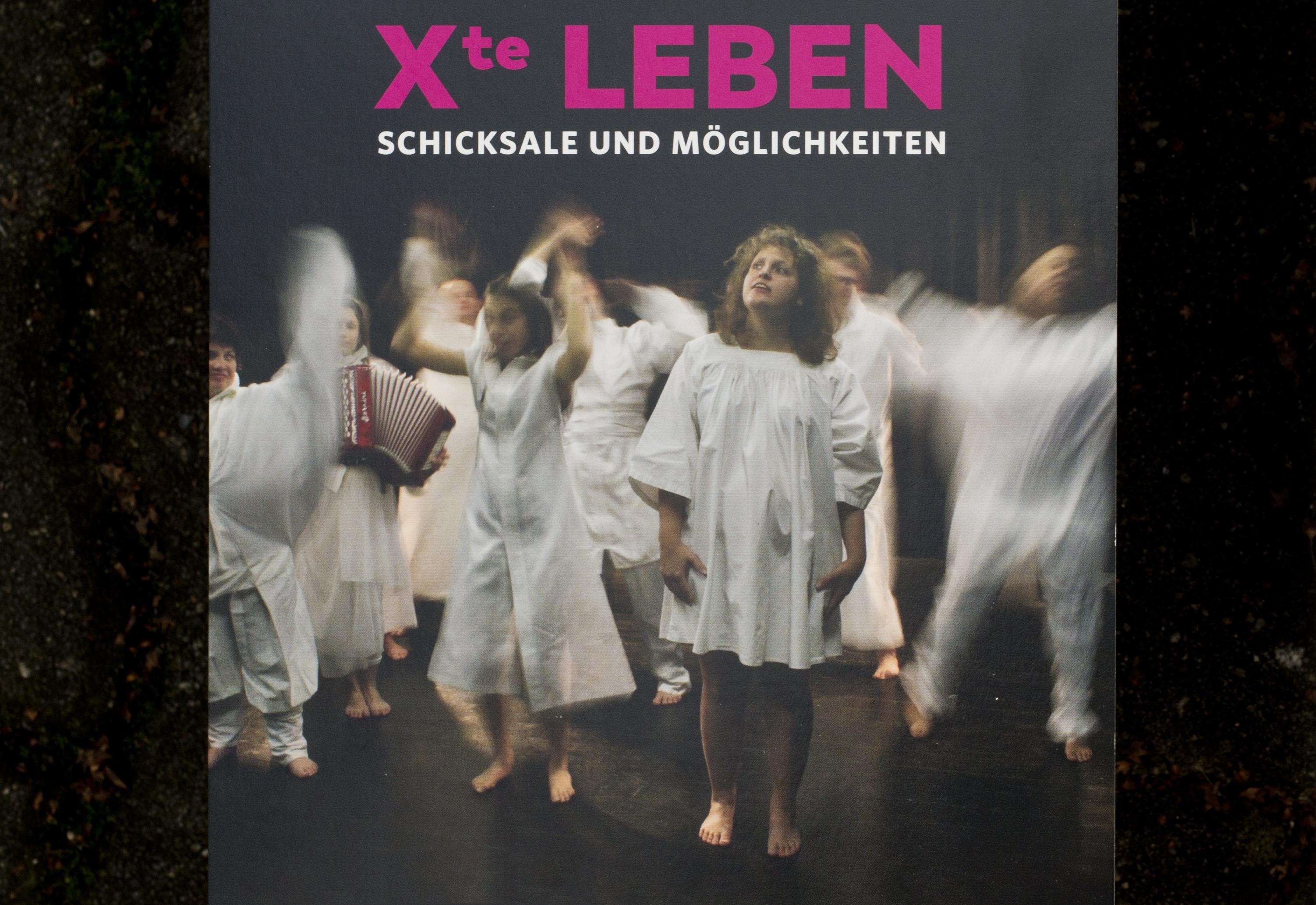 xte leben – Theaterstück – Gestaltung – Institut Hartheim Theater Kraut und Ruam © Martin Bruner Sombrero Design